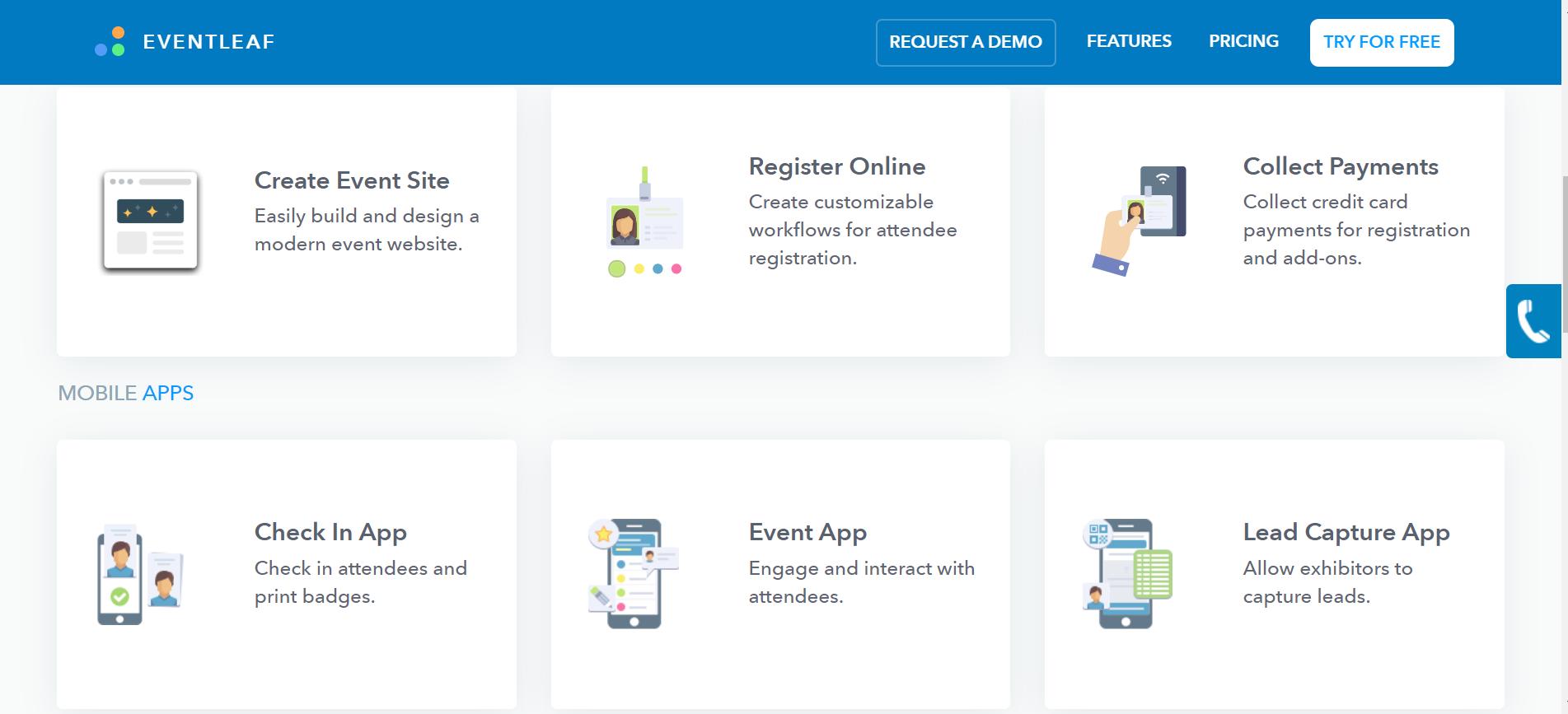 Eventleaf-Eventleaf_Online_Event_Registration_Management_Software_and_Apps features