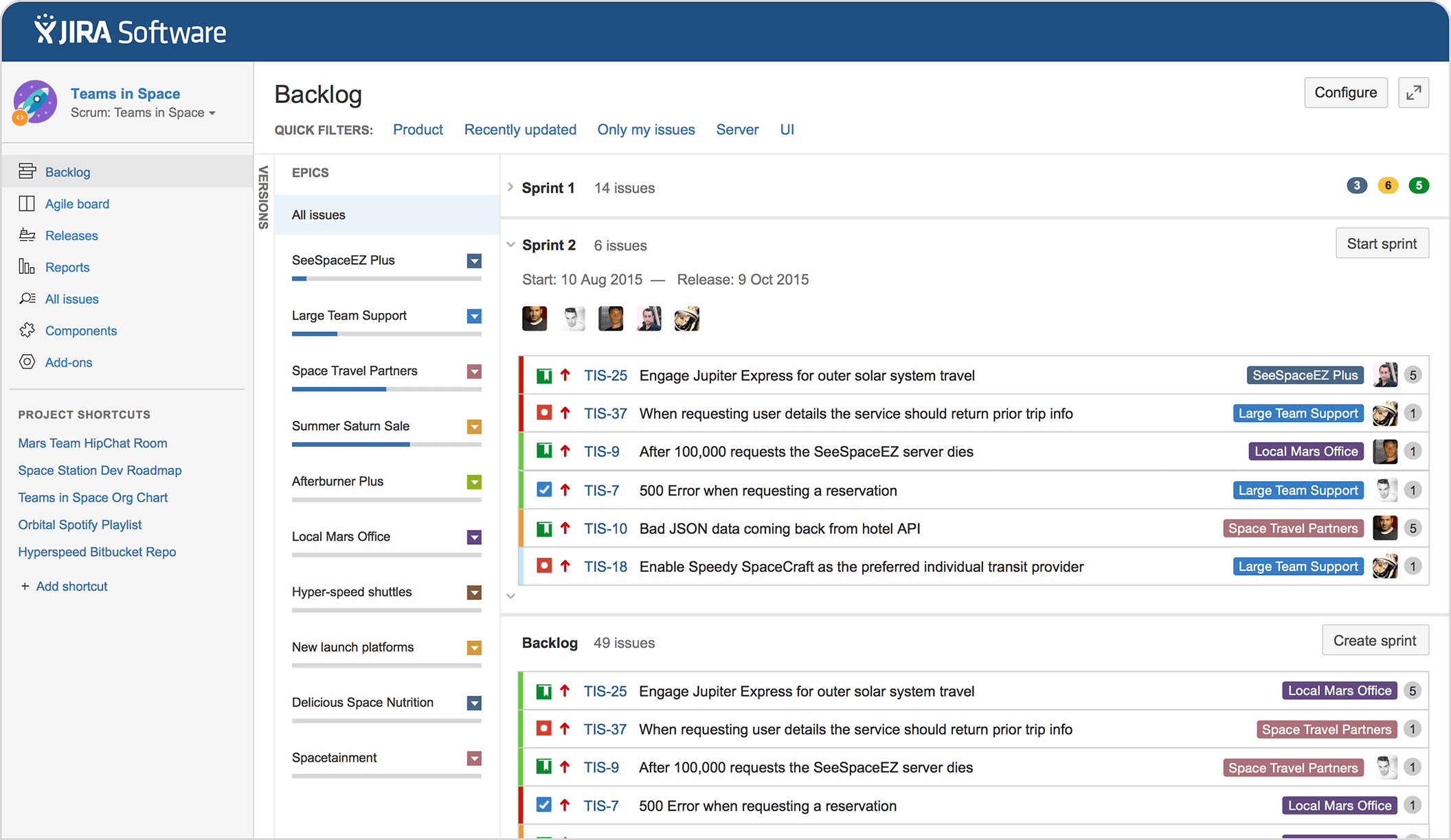 tool-management-project-jira-software-plan